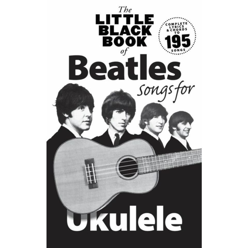 Novello Little Black Book Beatles Ukulele Produktbild
