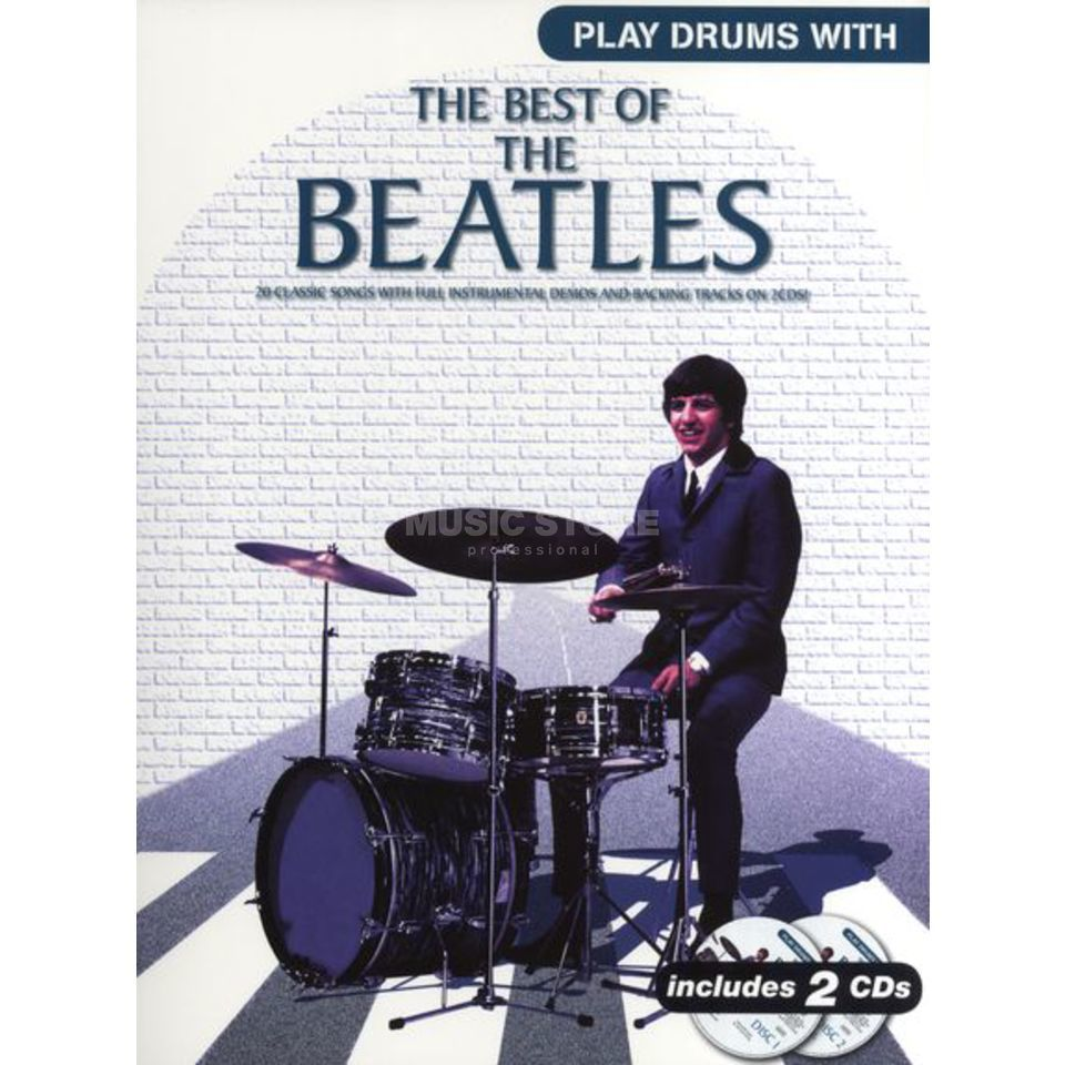 Novello Play Drums With The Beatles Book and CD Produktbillede