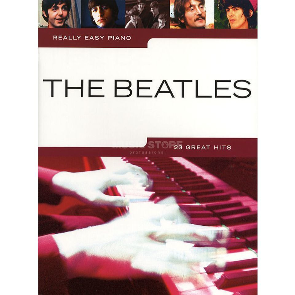 Novello Really Easy Piano: The Beatles  Produktbillede