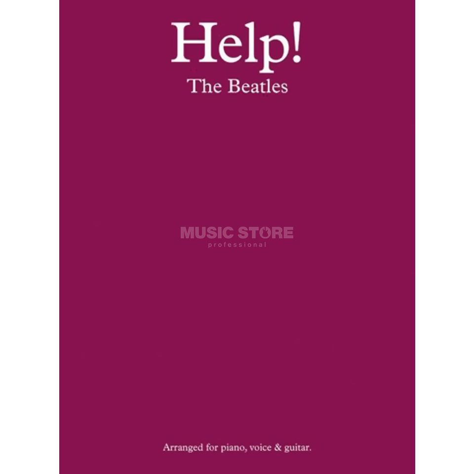 Novello The Beatles: Help! Produktbild