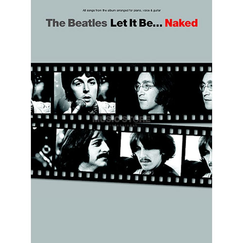 Novello The Beatles - Let It Be. Naked PVG Produktbillede