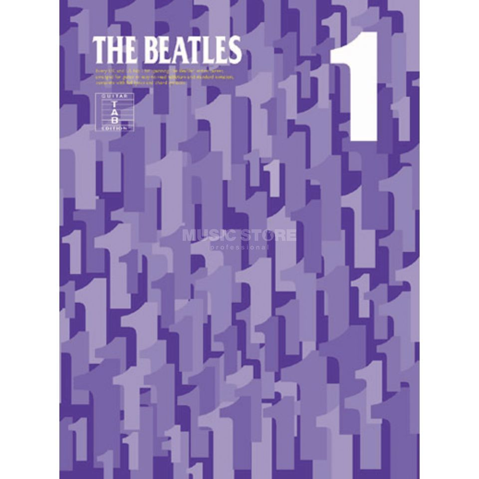 Novello The Beatles - One (1) TAB Produktbillede