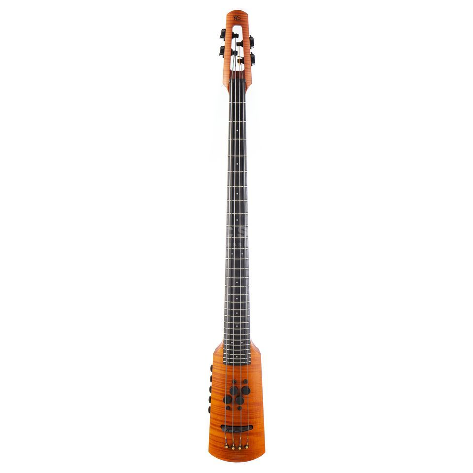 NS Design CR4 Omni Bass Fretted Amber Product Image