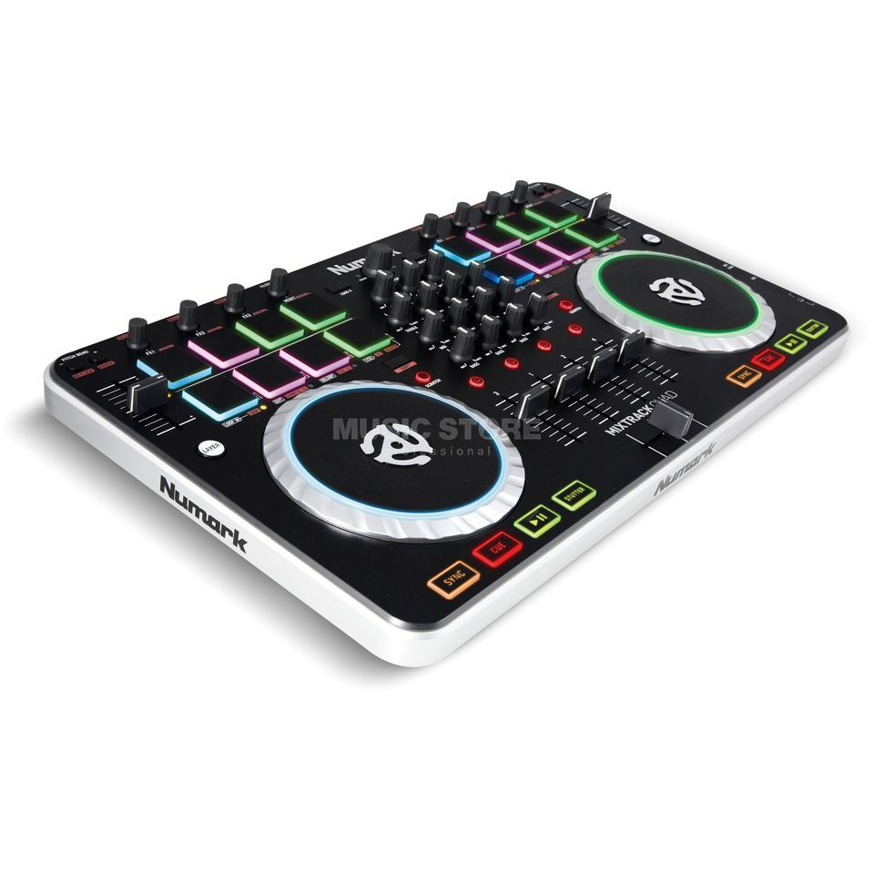 Numark Mixtrack Quad 4-Channel DJ Controller Product Image