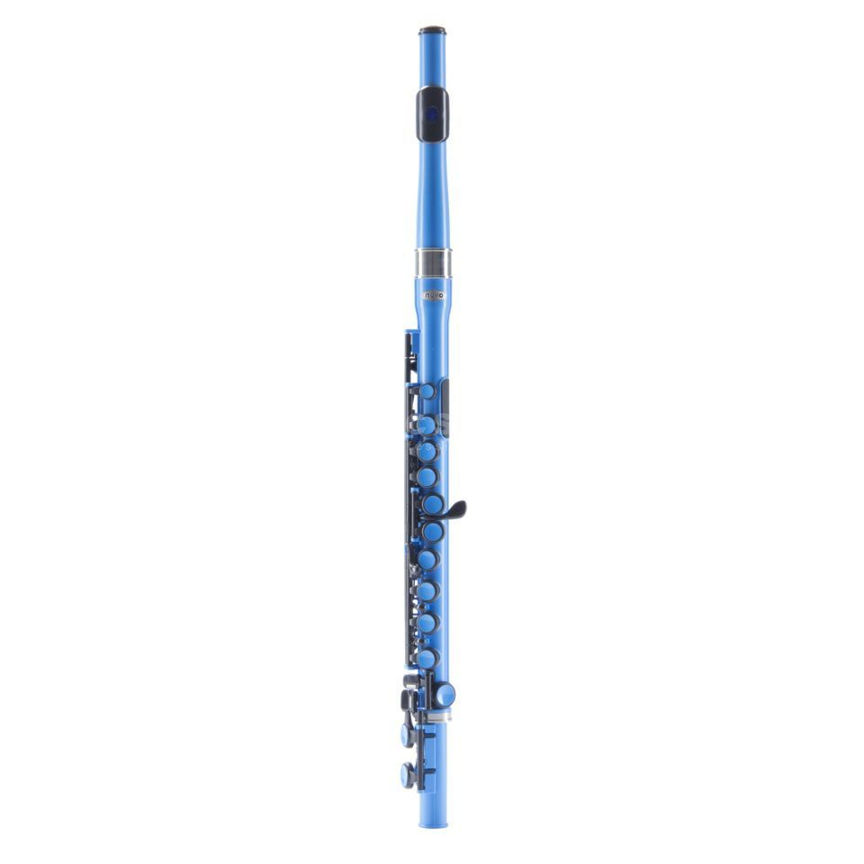 NUVO Student Flute Electric Blue  Produktbild