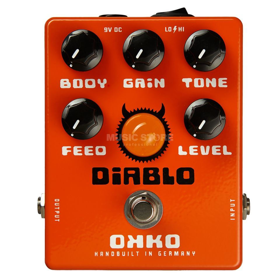 OKKO Guitar Effects Diablo Overdrive Produktbild