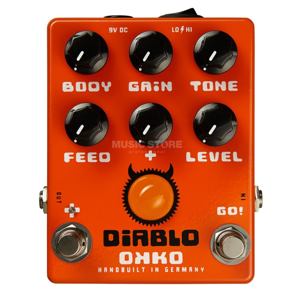 OKKO Guitar Effects Diablo Plus Overdrive  Produktbillede