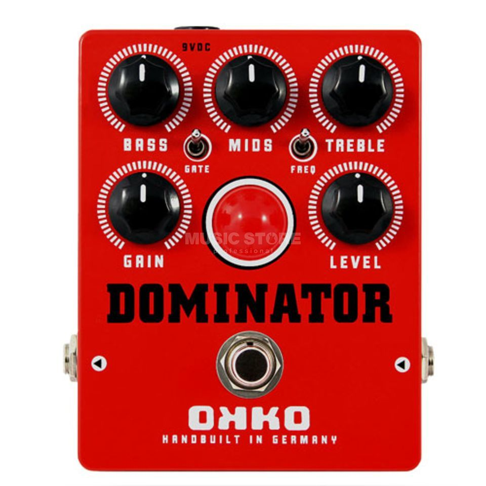 OKKO Guitar Effects Dominator Mk II Red Produktbillede