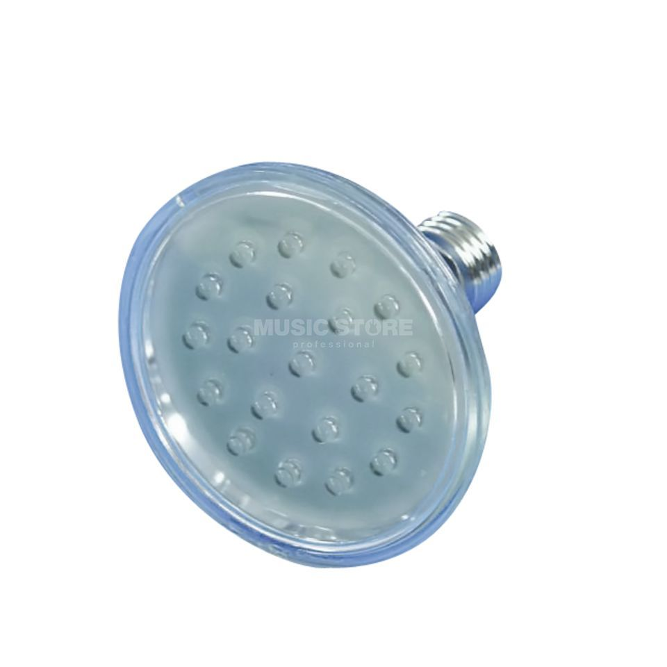 Omnilux Lamp PAR-30 240V E27 18 LED 5mm blue Produktbillede