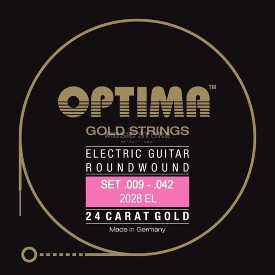 Optima E-Git.Saiten,09-42,GoldStrings Extra Light 2028EL Produktbild