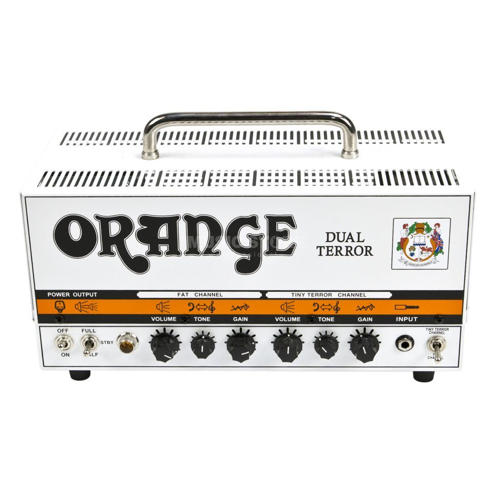 Orange Dual Terror Guitar Tube Amplif ier Head   Produktbillede