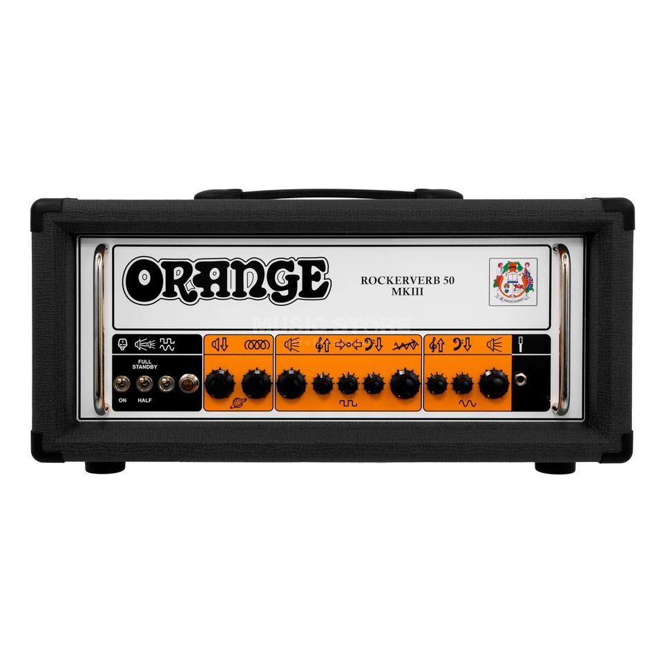 Orange Rockerverb 50H MKIII Head Black Product Image