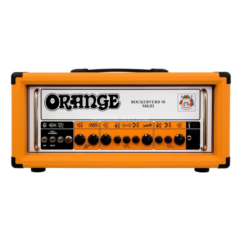 Orange Rockerverb 50H MKIII Head Orange Product Image