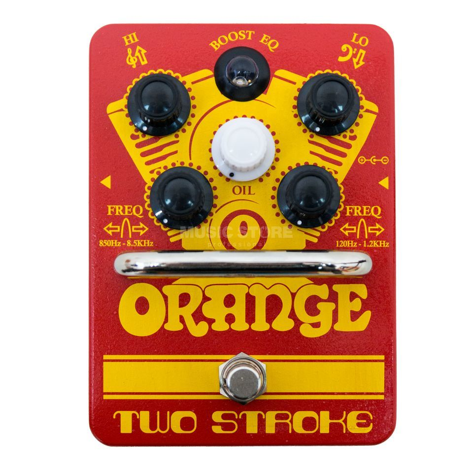 Orange Two Stroke Boost EQ Pedal Produktbild