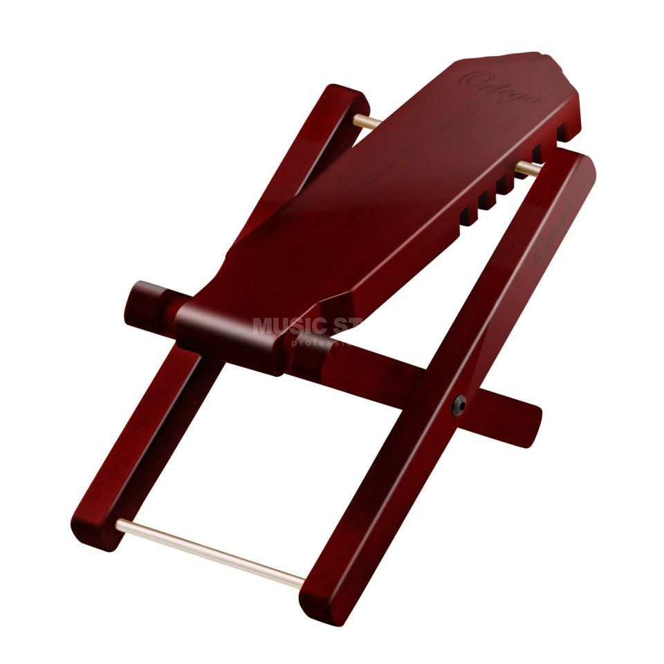 Ortega OWFS-1WR Foot Stool Wine Red Produktbillede