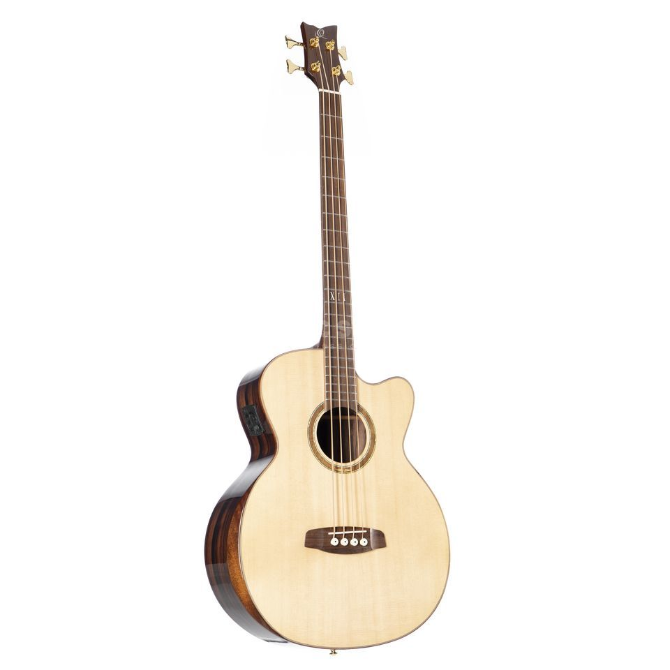 Ortega Private Room 4-String Bass Striped Suite ACB Produktbillede