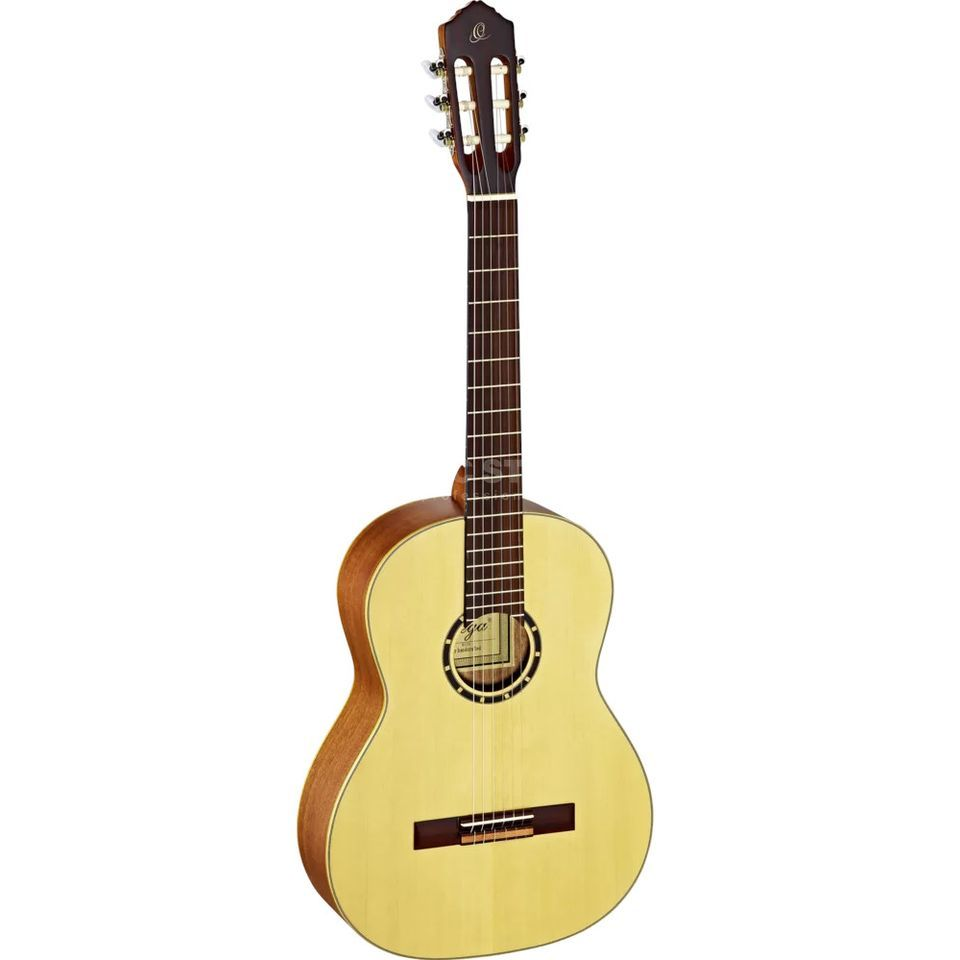 Ortega R121SN NT Small Neck, Natural, incl.  Bag Produktbillede