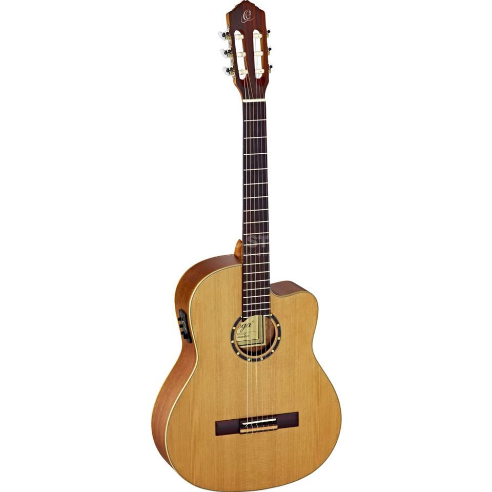 Ortega RCE131SN NT Small Neck Natural, incl. Gigbag Produktbild