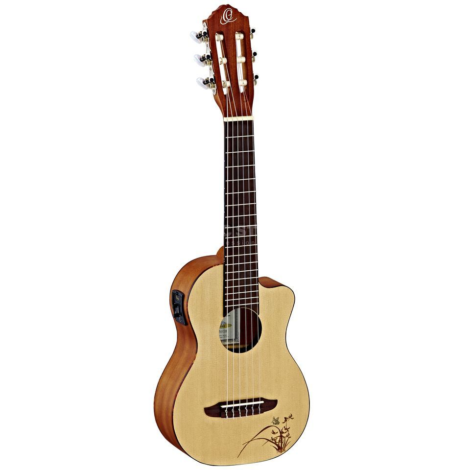 Ortega RGL5CE Guitalele Natural  Product Image