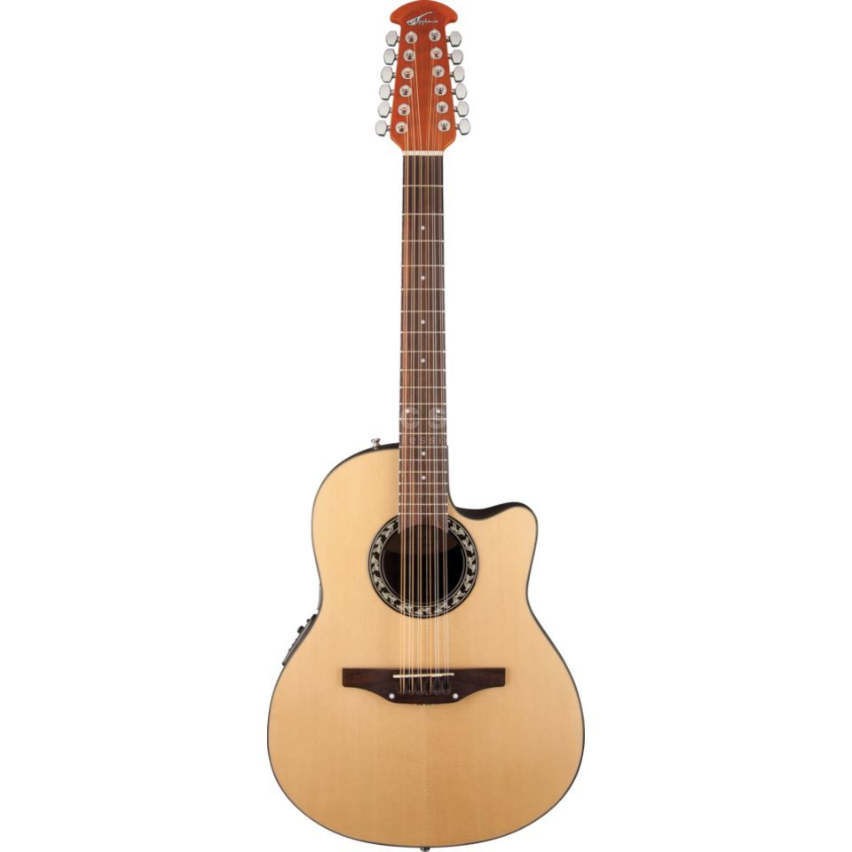 Ovation AB2412-4 Applause Balladeer NT 12-String, Natural Produktbillede
