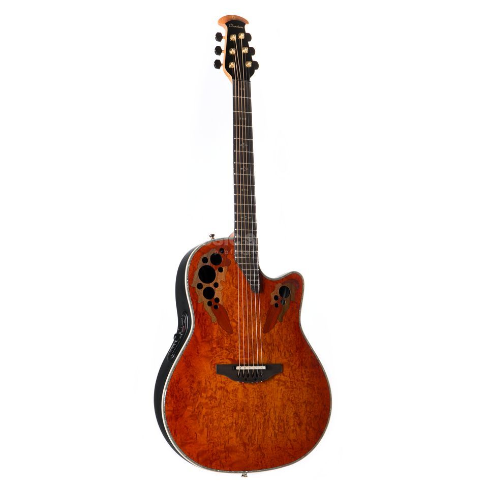 Ovation C2078AXP-OBK Limited Elite Plus Karelian Birch Produktbild