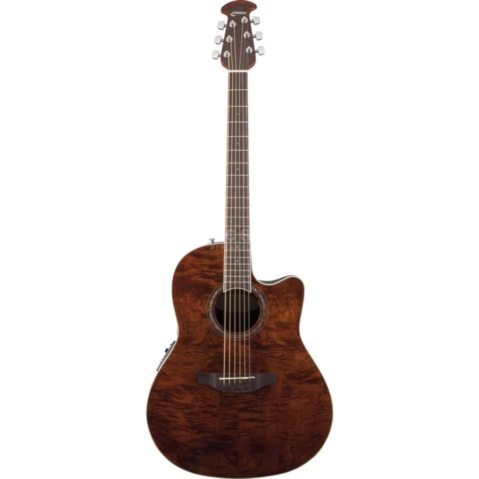 Ovation CS24P-NBM Celebrity Std. Plus Nutmeg Burled Maple Produktbillede