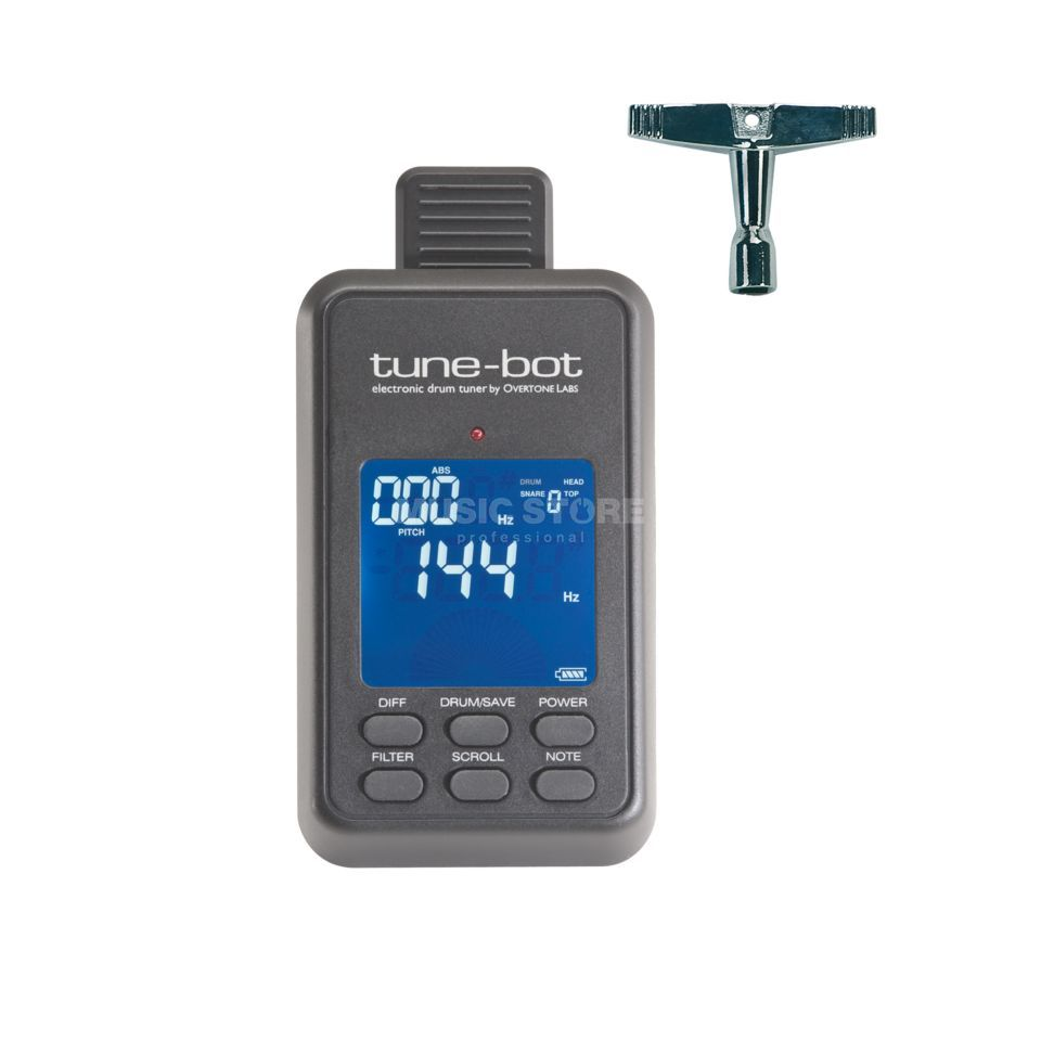 Overtone Labs Tune-Bot electr. drum tuner, incl. tuning wrench Produktbillede