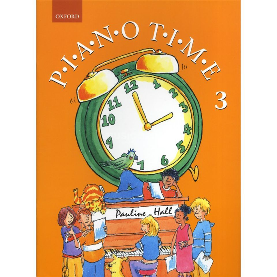 Oxford University Press Piano Time 3 Pauline Hall Produktbild