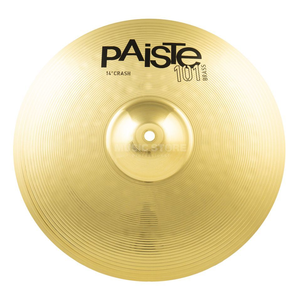 "Paiste 101 Brass Crash 14""  Product Image"