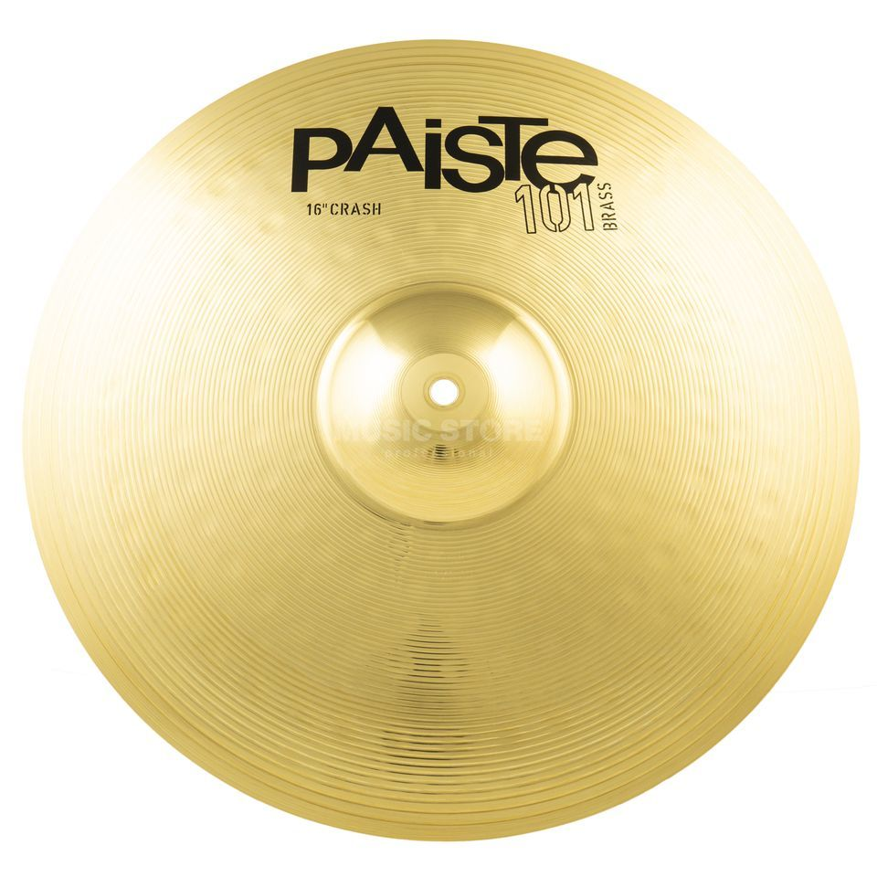 "Paiste 101 Brass Crash 16""  Produktbild"