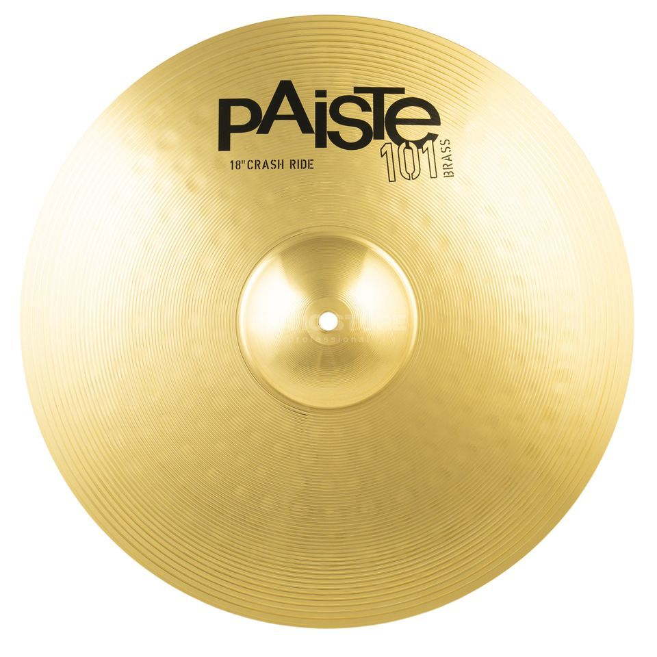 "Paiste 101 Brass Crash Ride 18""  Produktbild"