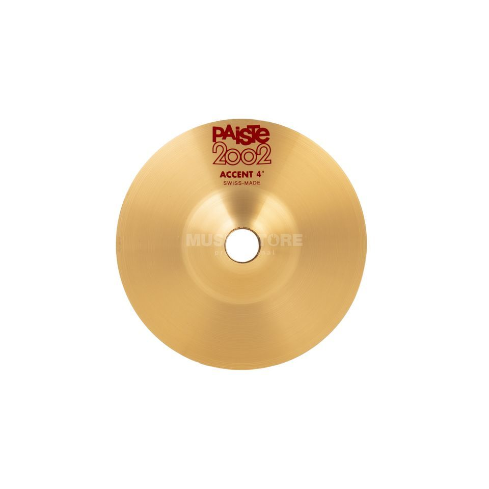 "Paiste 2002 Accent Cymbal 4""  Product Image"