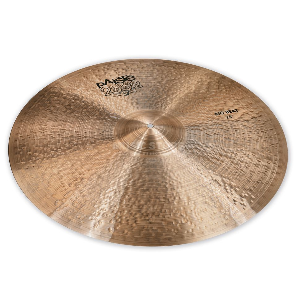 "Paiste 2002 Black Big Beat 24"" Product Image"