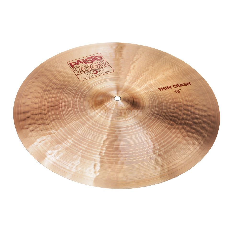 "Paiste 2002 Thin Crash 18""  Image du produit"