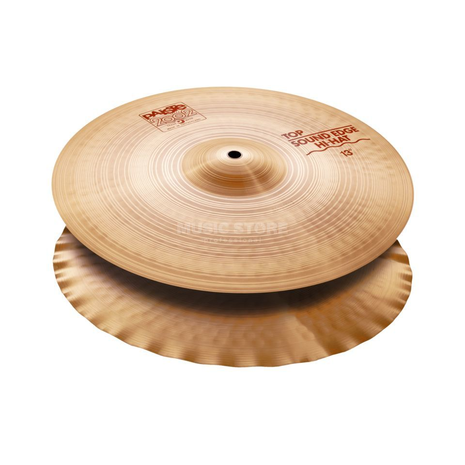 "Paiste 2003 Sound Edge HiHat 13""  Product Image"
