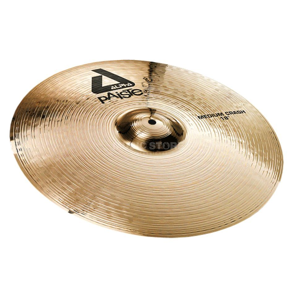 "Paiste Alpha Medium Crash 18"", Brilliant Produktbillede"