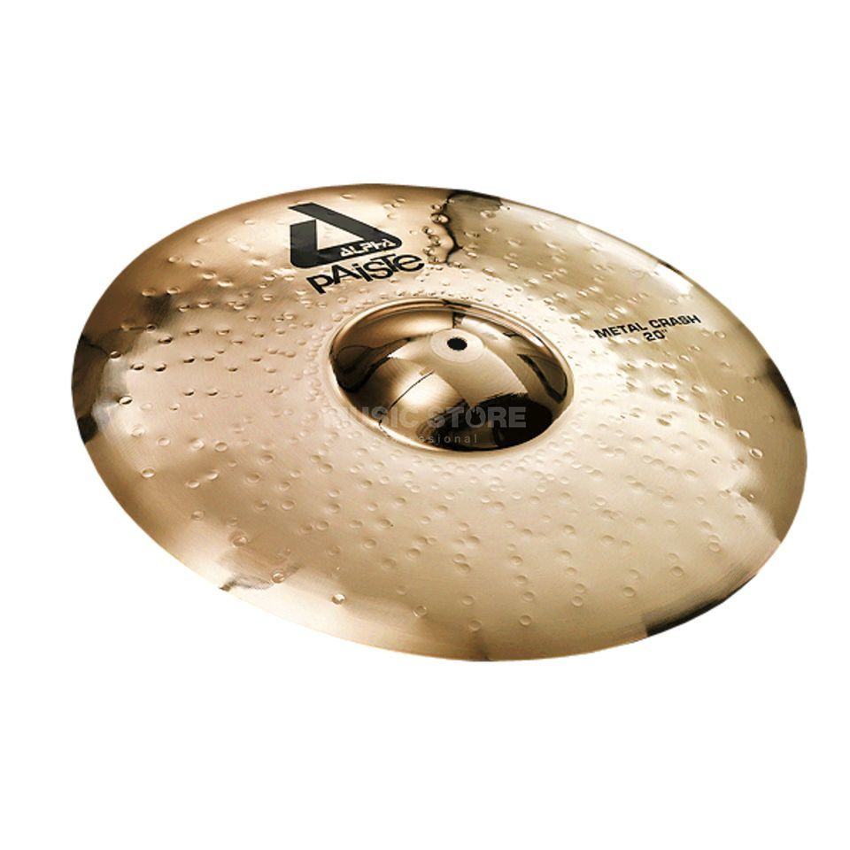 "Paiste Alpha Metal Crash 20"", Brilliant Produktbillede"