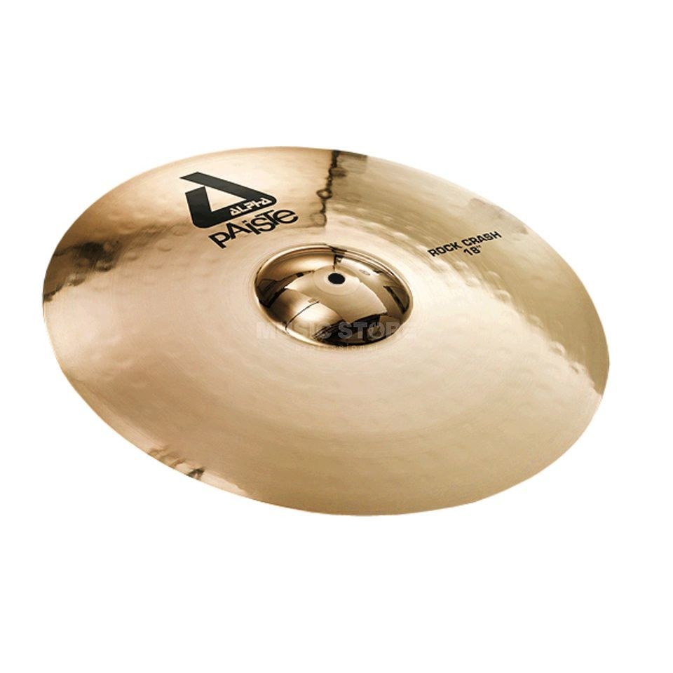 "Paiste Alpha Rock Crash 16"", Brilliant Immagine prodotto"