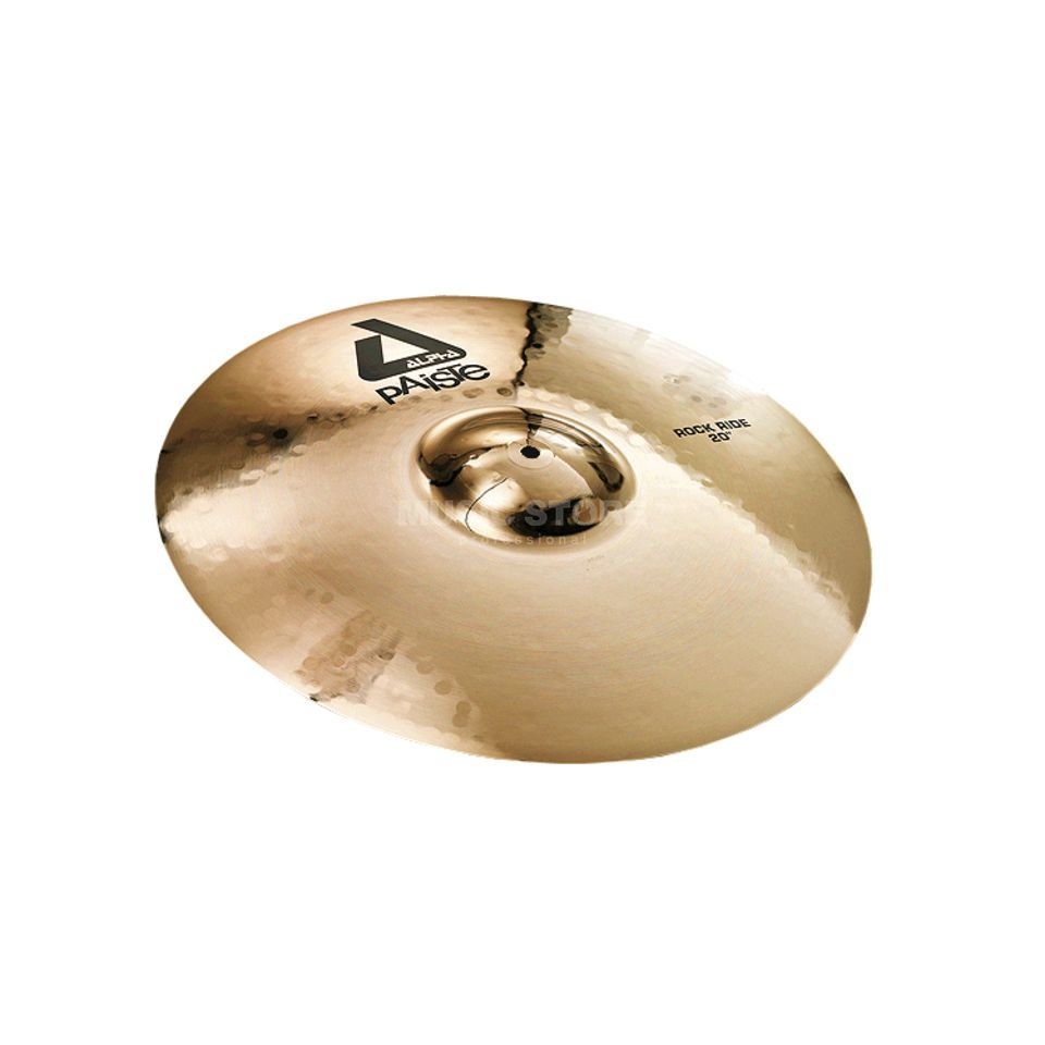 "Paiste Alpha Rock Ride 20"", Brilliant Изображение товара"