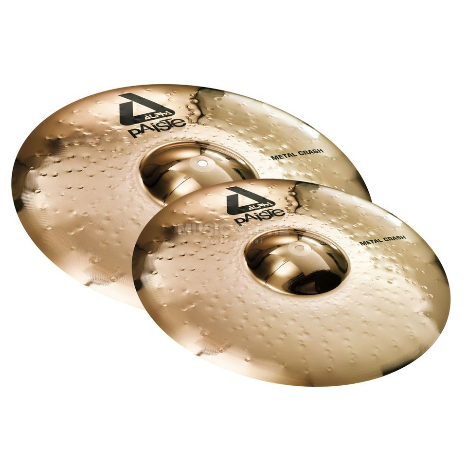 "Paiste Alpha Twin Crash Pack Metal 18"" + 20"" Produktbild"