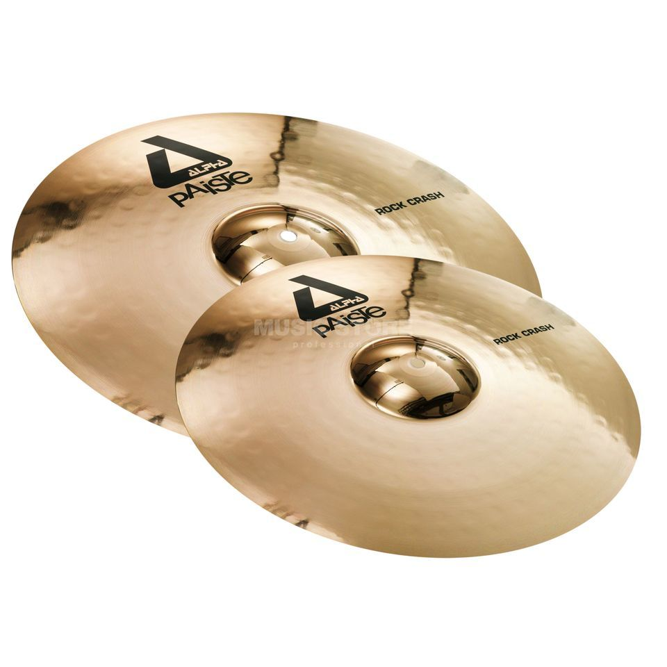 "Paiste Alpha Twin Crash Pack Rock 18"" + 20"" Produktbillede"