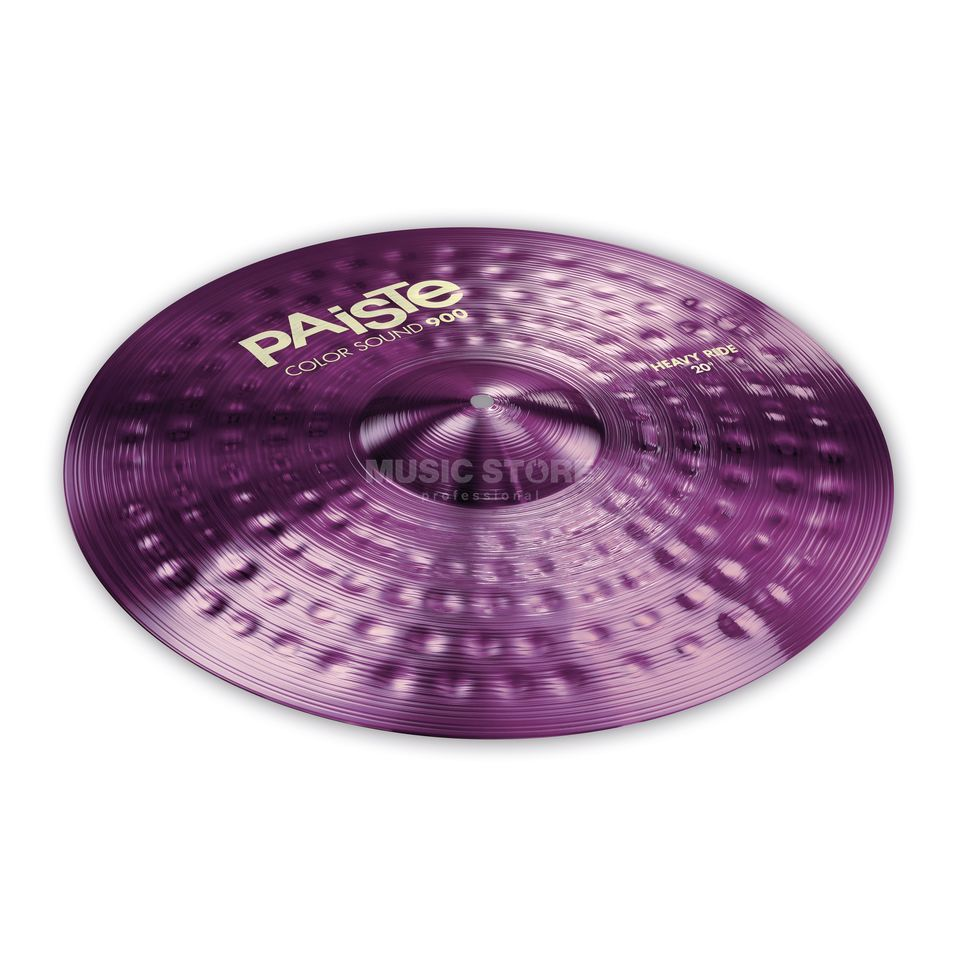 "Paiste CS 900 Heavy Ride 20"" Color Sound Purple Product Image"
