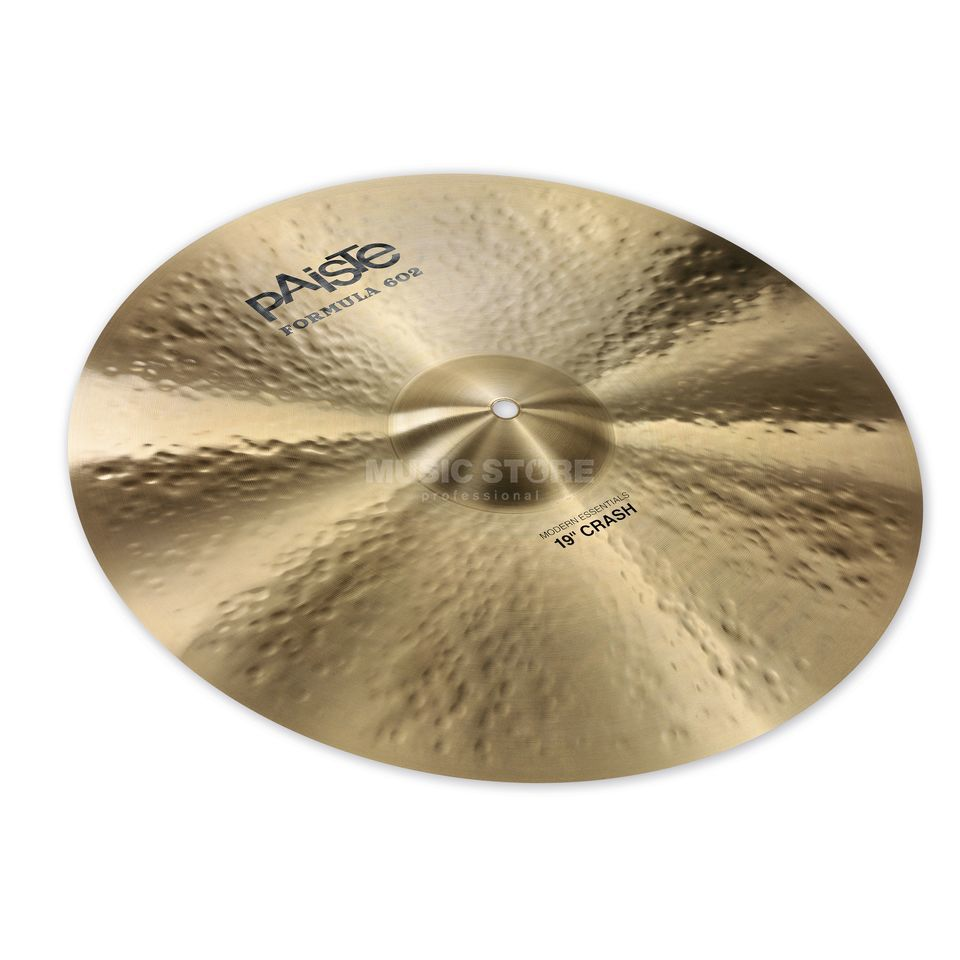 "Paiste Formula 602 Crash, 19"", Modern Essentials Product Image"
