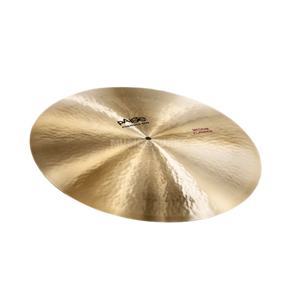 "Paiste Formula 602 Medium Flat Ride 20"" Produktbild"
