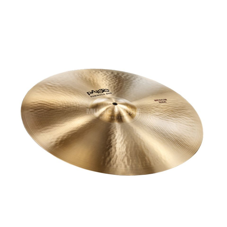 "Paiste Formula 602 Medium Ride 20""  Product Image"