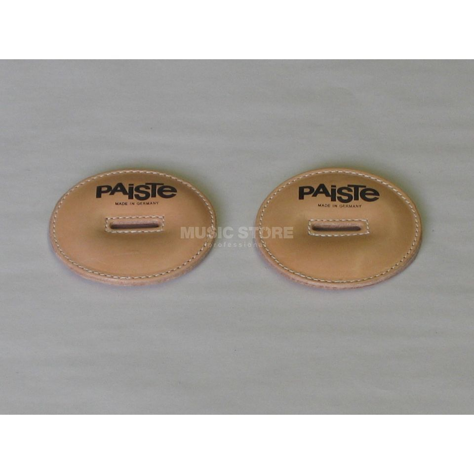 Paiste Leather Pads, small, f. Concert & Marching Cymbals Produktbillede