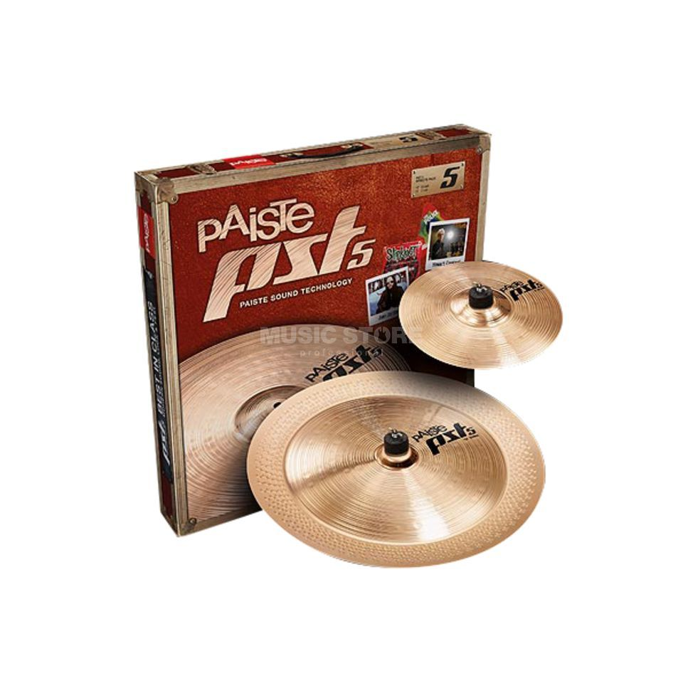 "Paiste PST5 Cymbal Set ""Effects"" 10"" Splash, 18"" China Produktbillede"