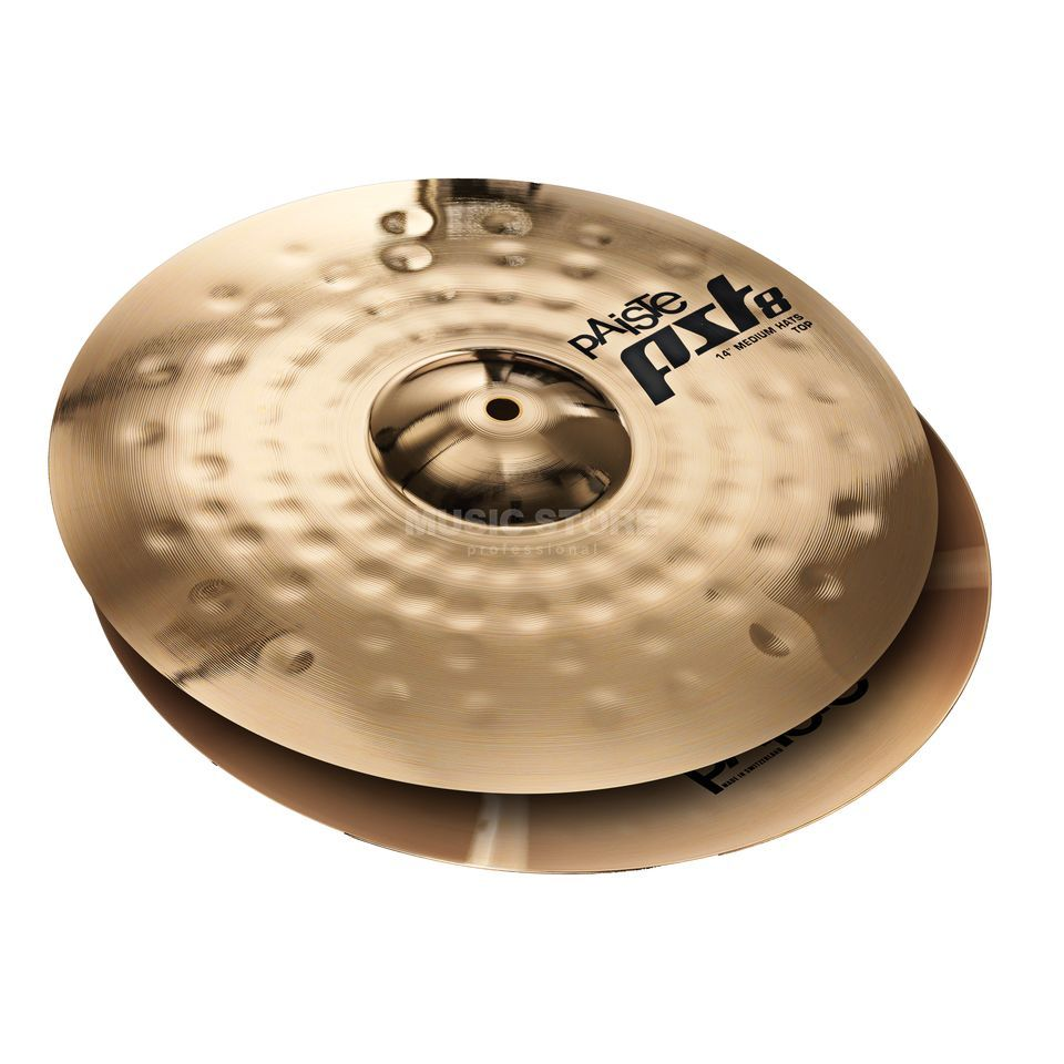 "Paiste PST8 Medium HiHat 14"", Reflector Finish Produktbild"