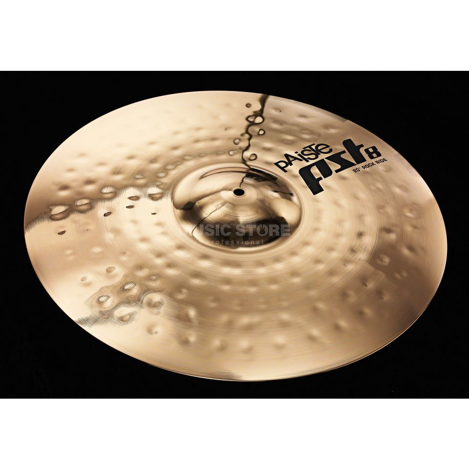 "Paiste PST8 Rock Ride 20"", Reflector Finish Produktbillede"