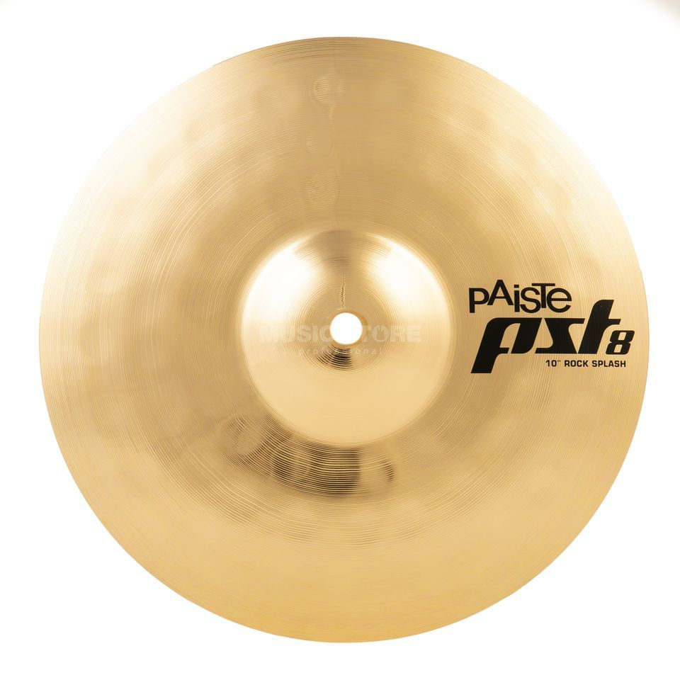 "Paiste PST8 Rock Splash 10"", Reflector Finish Produktbillede"